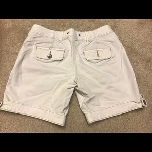 Anthropologie Shorts - Anthropologie Hei Hei White Cotton Short 0